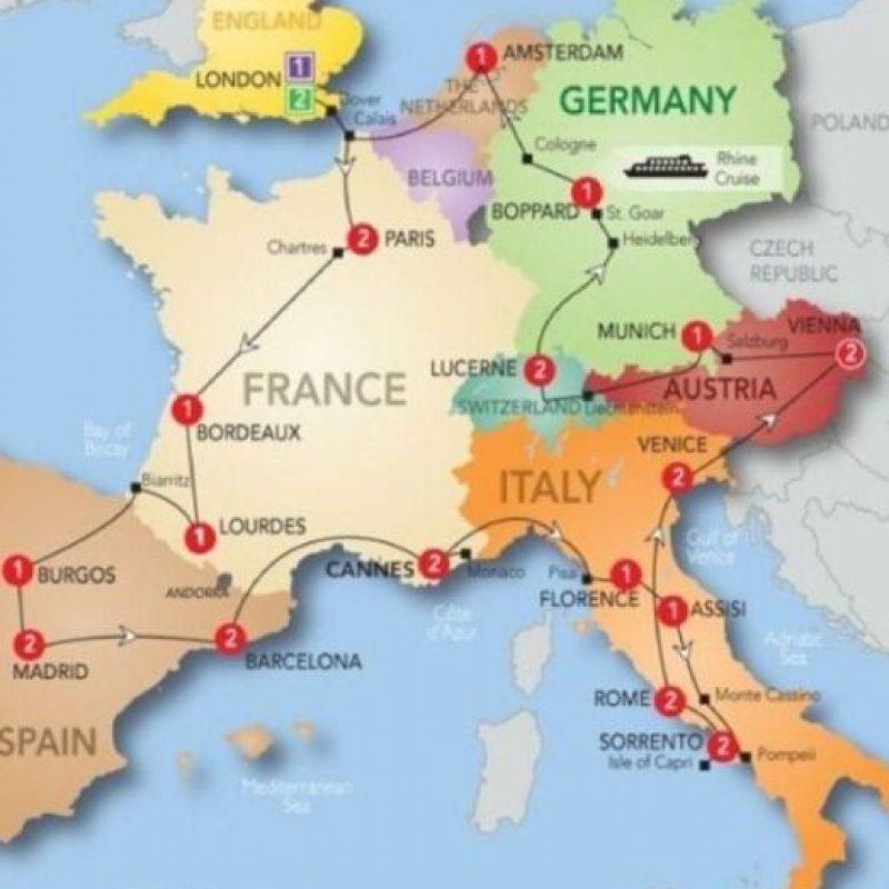 11- Europe (Europa) – Es el continente más antiguo del mundo y abarca 10 millones 530 mil 751 kilómetros cuadrados. Foto:Getty Images