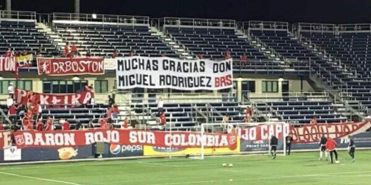 Hinchas de América agradecen a los Rodríguez Orejuela