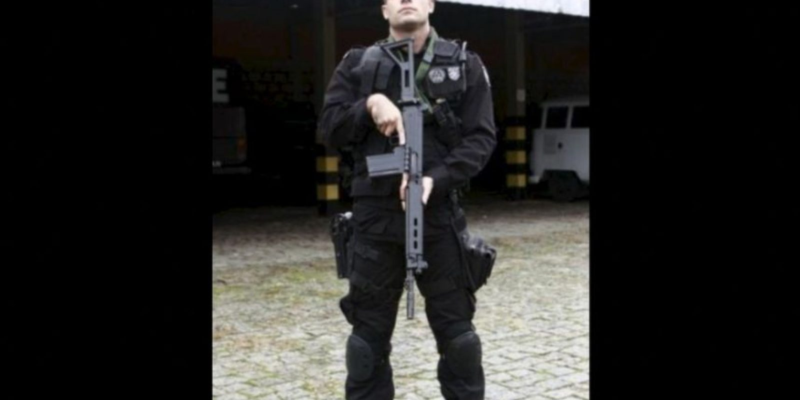 Es un apuesto teniente del Batallón de Operaciones Especiales en Brasil. Foto:Vía Instagram/LuciusCarvalho