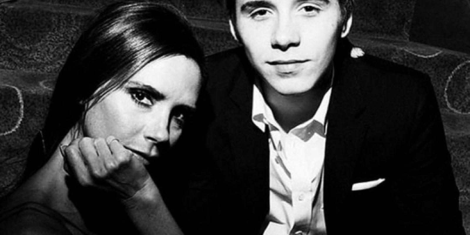 Es hijo de Victoria y David Beckham Foto:Instagram/brooklynbeckham