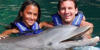 Lionel Messi y Antonella Roccuzzo se conocieron desde antes de que cumplieran 10 años en su natal Rosario, Argentina Foto:Twitter