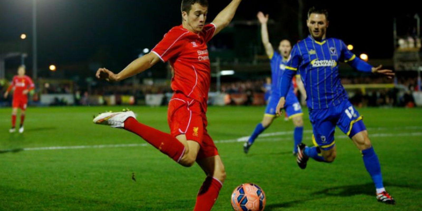 El canterano fue cedido al Liverpool la campaña pasada y ahora juega con el Olymique de Marsella Foto:Getty Images