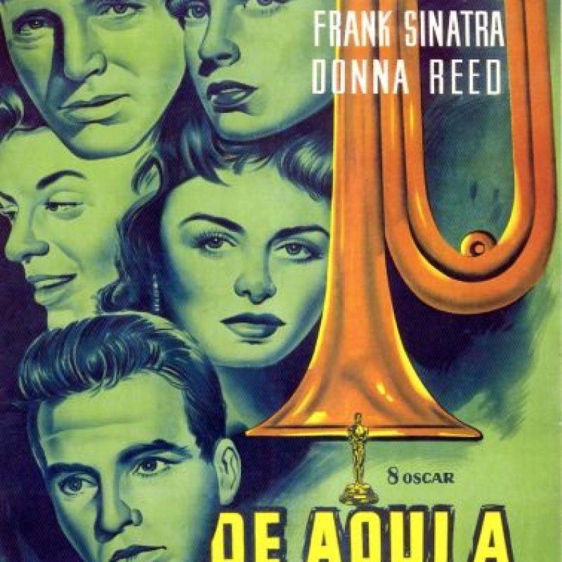 """4. """"De aquí a la eternidad"""" (1953) Ganó ocho estatuillas de sus 13 nominaciones. Foto:Vía Tumblr"""