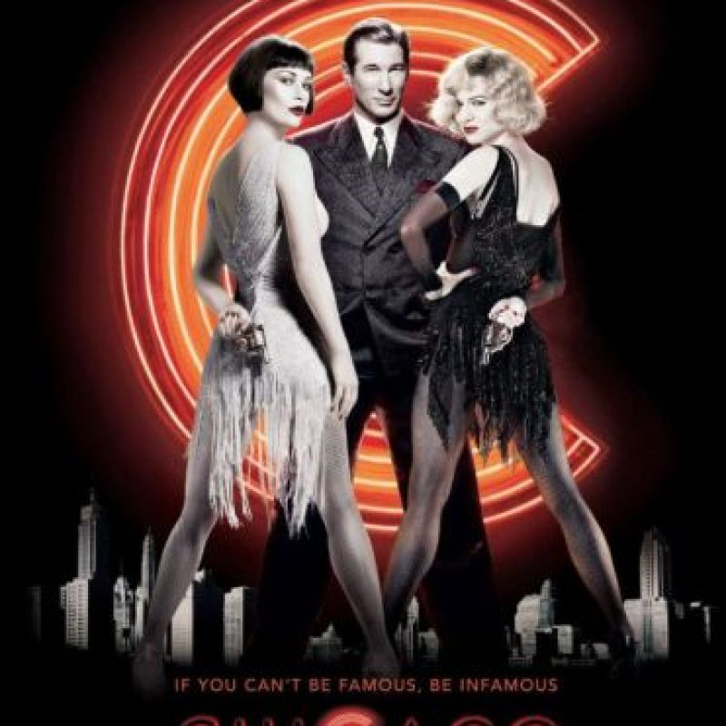 """7. """"Chicago"""" (2002) De sus 13 nominaciones al Oscar, ganó seis. Foto:Vía Tumblr"""