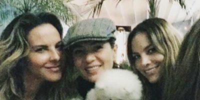 Kate y Yolanda tienen una relación de amistad que siempre han compartido en redes. Foto:Vía Instagram/@YolandaAmor