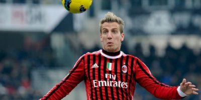 También defendió los colores del AC Milan (2011-2012) Foto:Getty Images