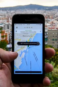 15. Con un código personal, pueden recomendar la app a sus amigos y obtener ambos viajes gratis. Foto:Getty Images