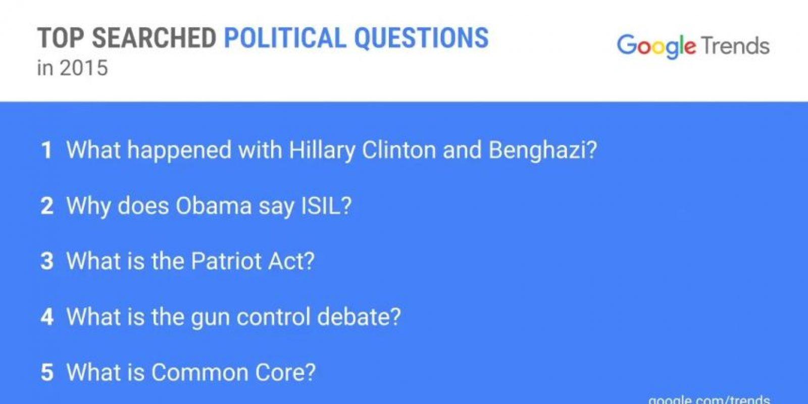 Entre los temas se habló del terrorismo y del uso de armas, entre otros. Foto:Youtube/White House