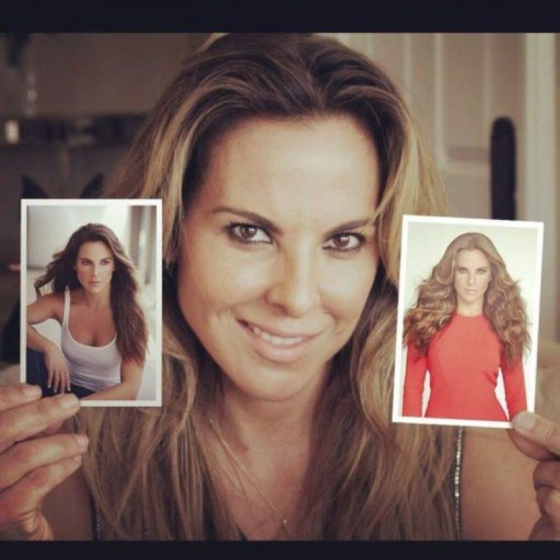 Y es una actriz mexicana de cine y televisión. Foto:Vía Instagram/@katedelcastillo