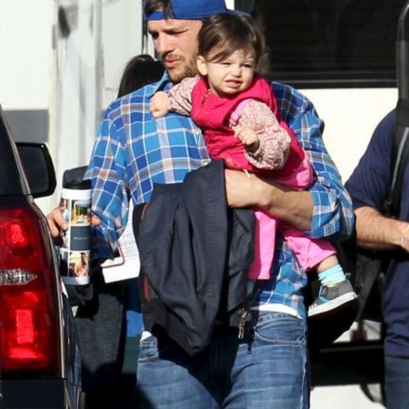 El nombre de la pequeña es Wyatt Isabelle Foto:Grosby Group