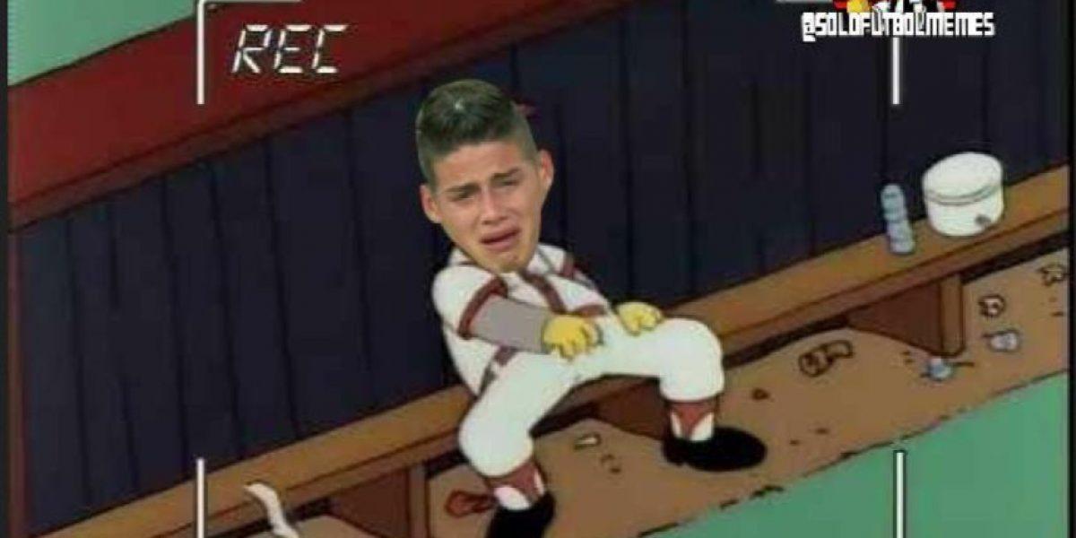 Burlas y memes por suplencia de James y lesión de Benzema