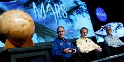 Aunque se descubrió que existió agua líquida en Marte, aún no se han descubierto lagos o mares en el planeta Foto:NASA