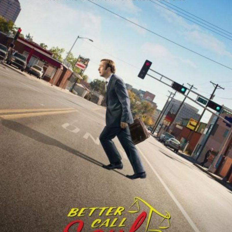 """""""BETTER CALL SAUL"""". Segunda temporada disponible a partir del 16 de febrero. Foto:Netflix / AMC"""