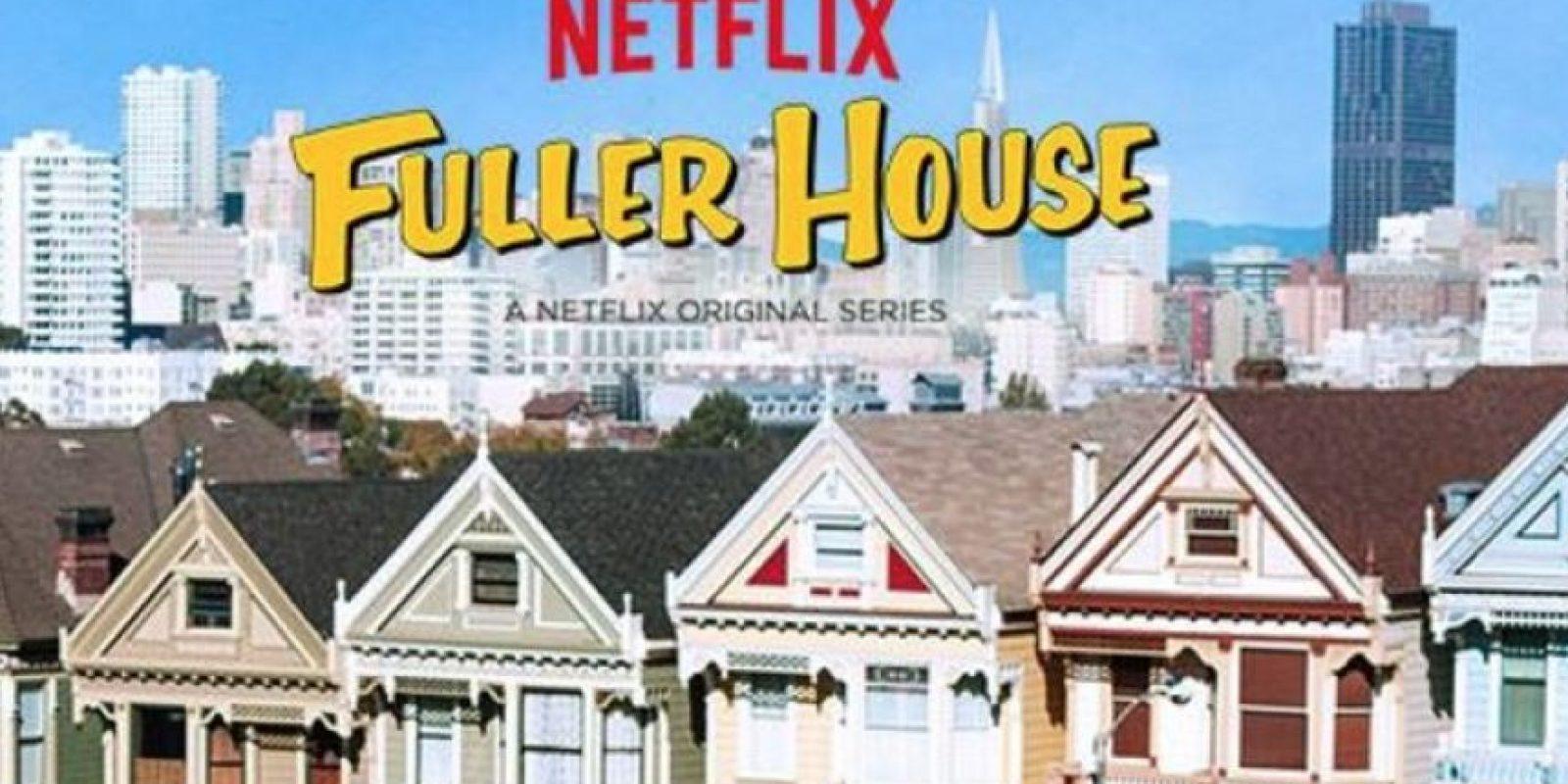 """""""FULLER HOUSE"""". Primera temporada disponible a partir del 26 de febrero. Foto:Netflix"""