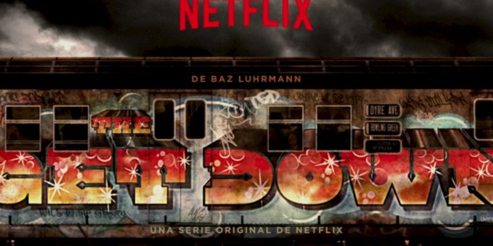 """THE GET DOWN"". Primera temporada disponible a partir del 12 de agosto. Foto: Netflix"