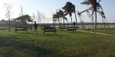 El parque lineal del lago es obra de la CRA. Foto:Lina Robles