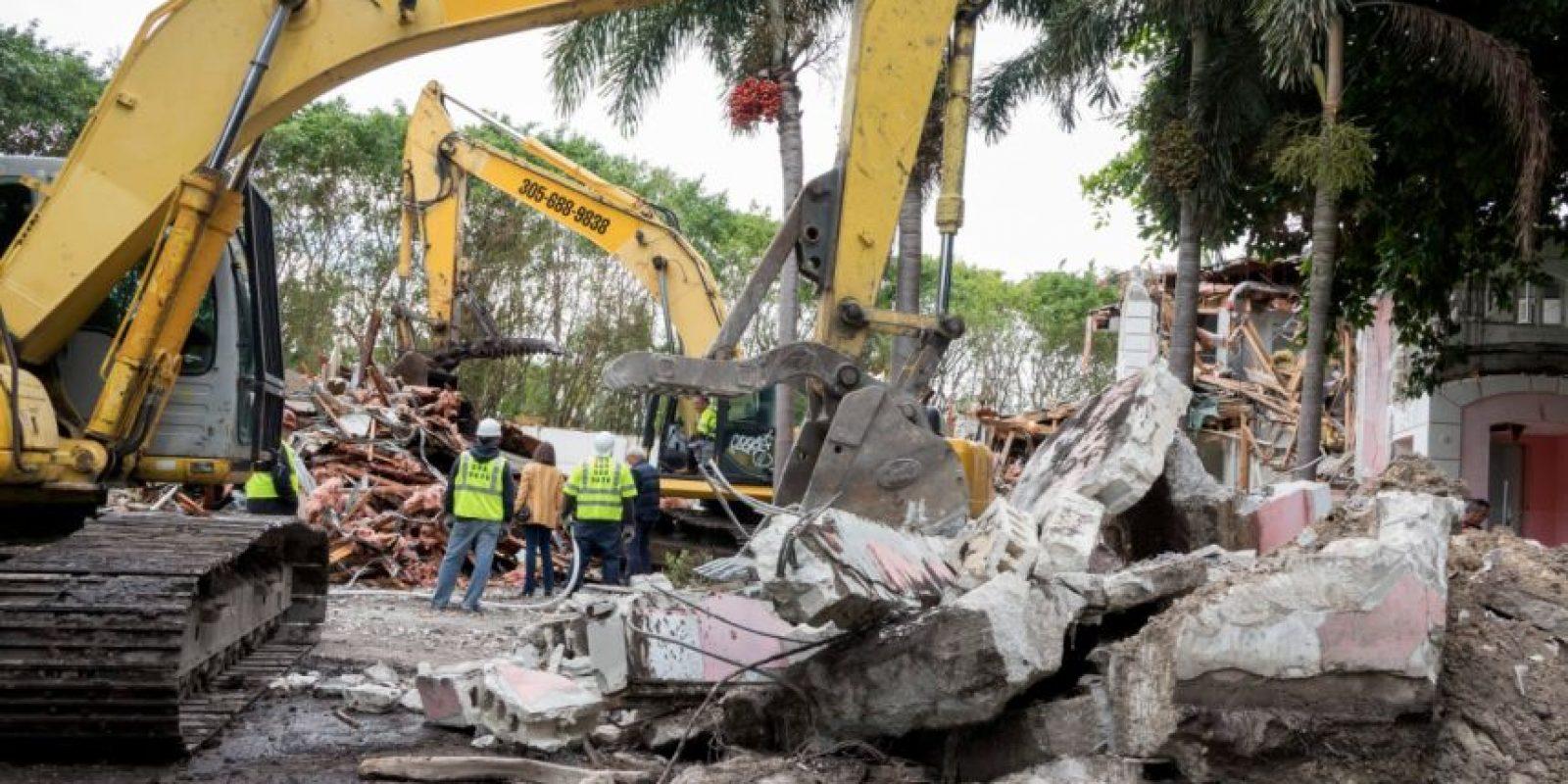 Mansión de Pablo Escobar en Miami será demolida. Foto:EFE