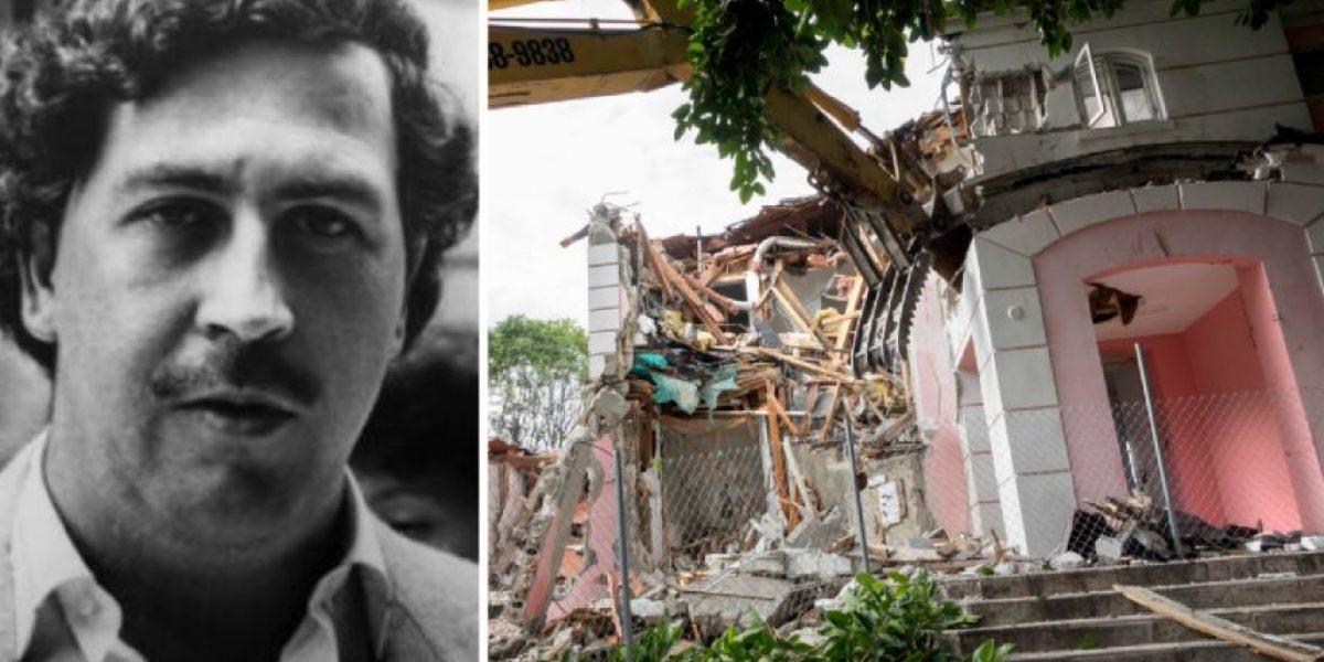 Lo que encontraron en la mansión de Pablo Escobar en Miami