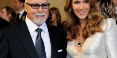 René Angélil y Celine Dion. Foto:Getty Images