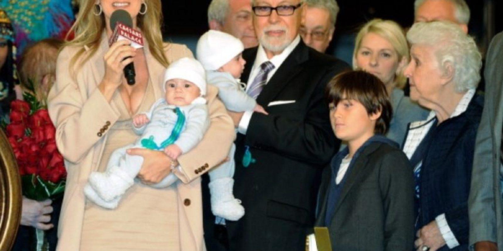 La familia completa en 2011. Foto:Getty Images