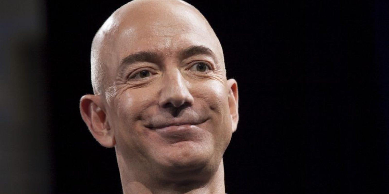 Es el fundador y director ejecutivo de Amazon.com. Foto:Getty Images