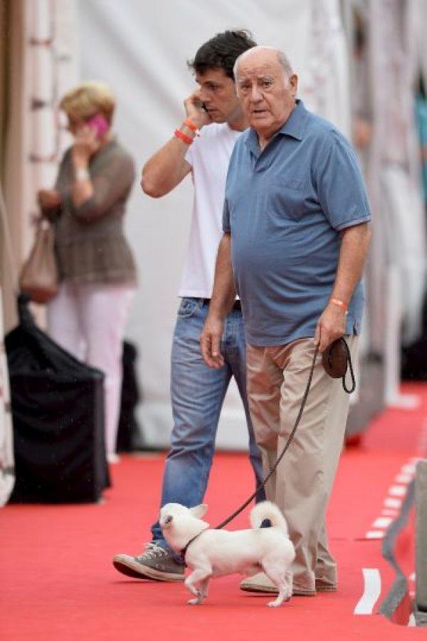 4. Amancio Ortega: su fortuna esta evaluada en $64 mil 500 millones de dólares. Origen de su fortuna: Zara Foto:Getty Images