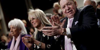 Es presidente y director ejecutivo de Las Vegas Sands Corporation. Foto:Getty Images