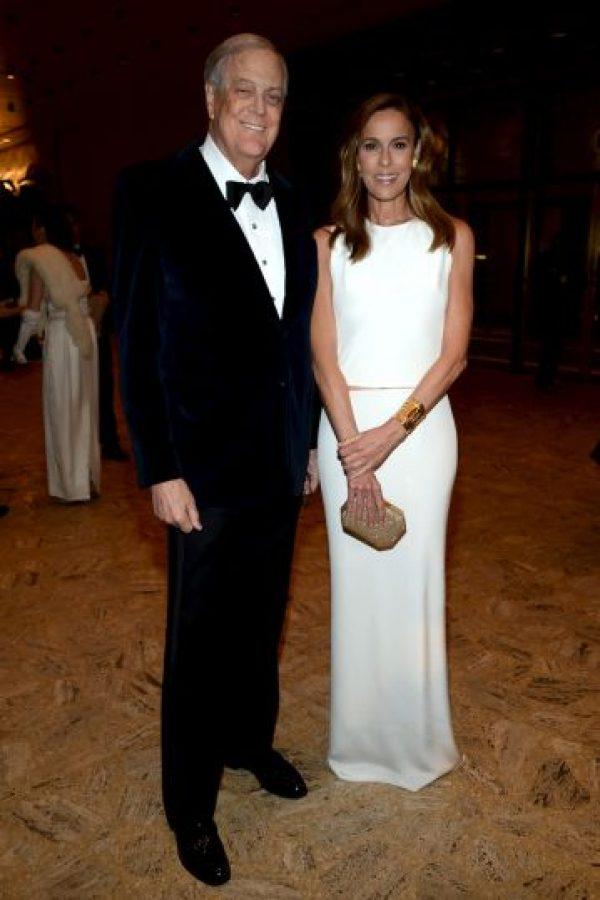 Ambos, propietarios de la empresa Koch Industries. Foto:Getty Images