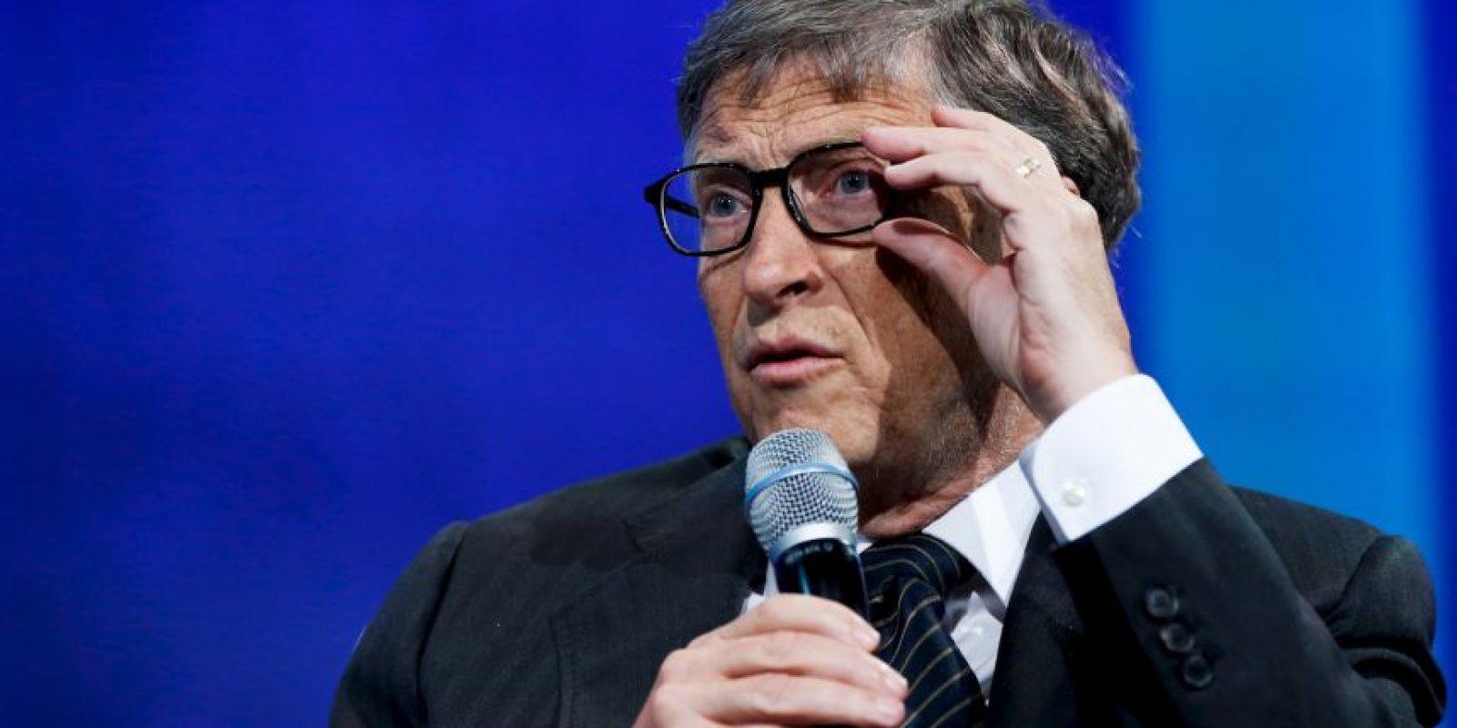 El origen de su fortuna es su empresa Microsoft. Foto:Getty Images