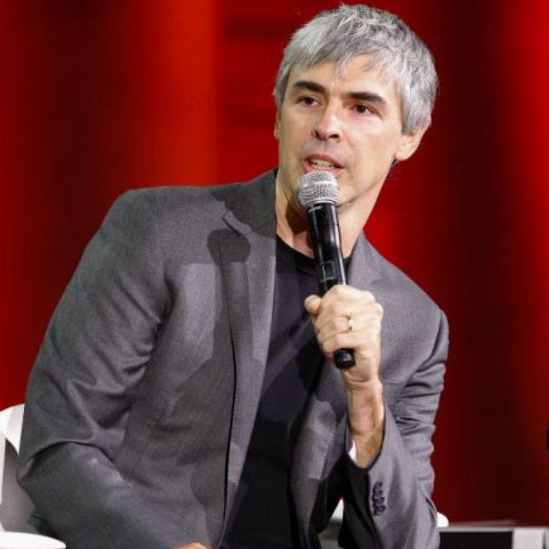 18. Larry Page: su fortuna es de aproximadamente $29 mil 700 millones de dólares. Foto:Getty Images