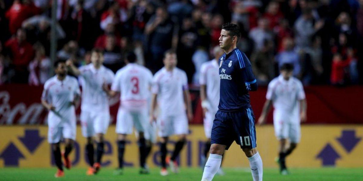 El difícil momento de James Rodríguez con Zinedine Zidane