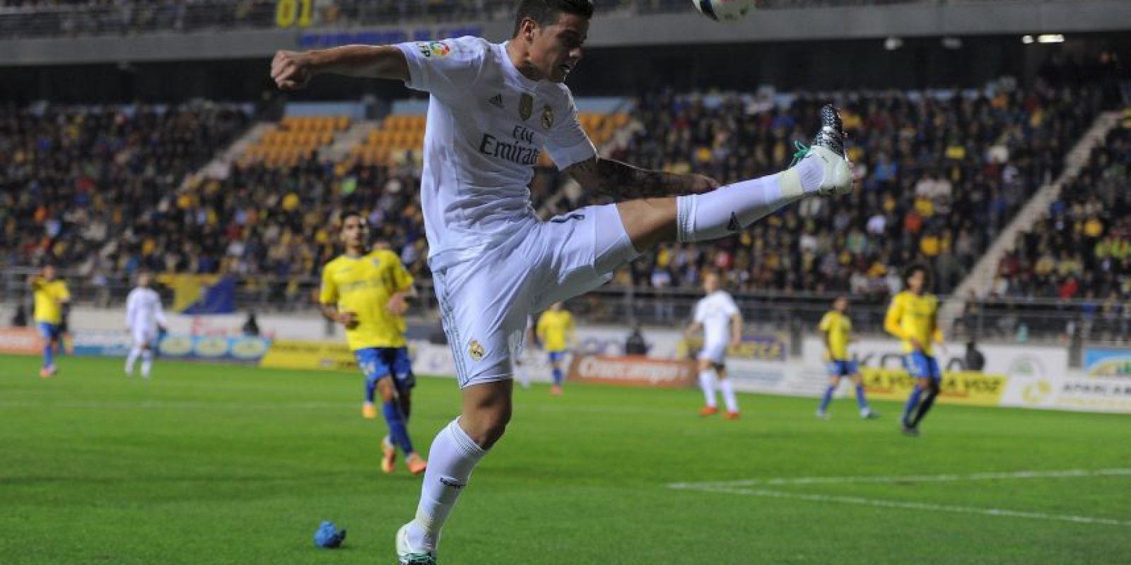 El colombiano no ha sido titular en los dos partidos que ha dirigido Zidane Foto:Getty Images