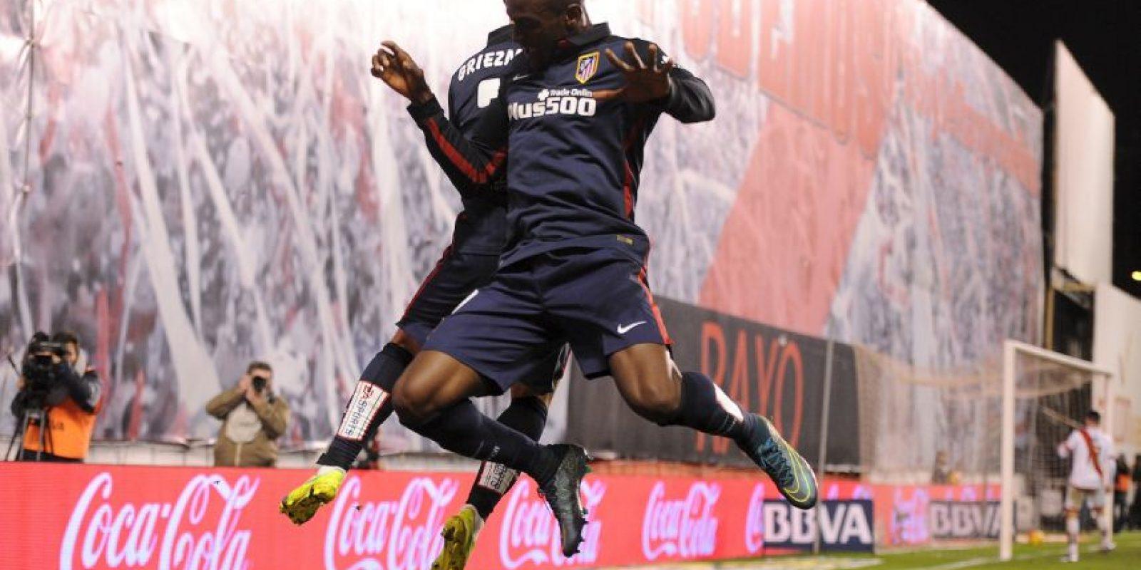 """""""Metro"""" publica que el delantero colombiano tiene probabilidades de mudarse del Atlético de Madrid al Chelsea o Tottenham Foto:Getty Images"""