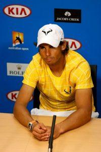Rafa Nadal cayó de forma sorpresiva en la primera ronda del Abierto de Australia Foto:Getty Images