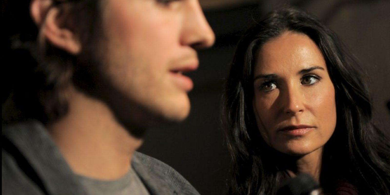 Él, tan campante, luego se casó con Mila Kunis. Foto:vía Getty Images