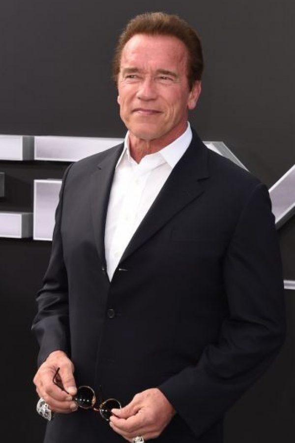 Arnold Schwarzenegger tuvo un hijo con su ama de llaves hondureña. Foto:vía Getty Images