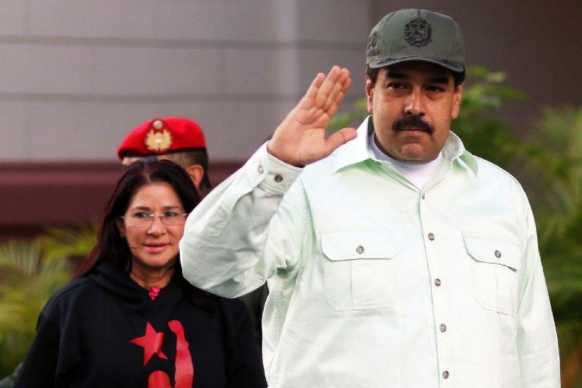 Debido a que Nicolás Maduro encarceló a políticos de la oposición es acusado de represor. Foto:AFP