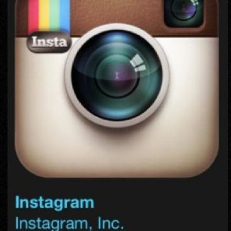 "5- ""Instagram"". Designada como la mejor en iPhone 6s. Compartan su undo con fotos y videos. Foto: Apple"