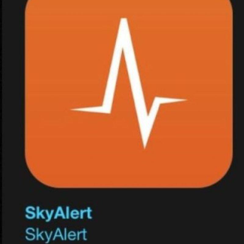 """8- """"SkyAlert"""". Es gratuita y permite conoce la ubicación y cómo se encuentran sus contactos después de un sismo. Foto:Apple"""