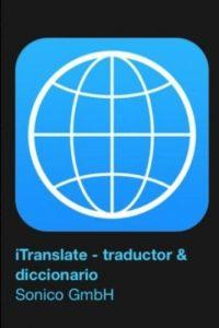 """18- """"iTranslate – traductor & diccionario"""". Es gratuita y se trata de una herramienta de traducción que les ayuda a derribar las barreras idiomáticas. F Foto:Apple"""