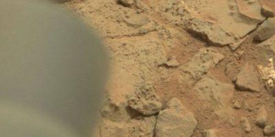 Esta es la imagen difundida por la NASA Foto:http://mars.jpl.nasa.gov/msl-raw-images/msss/00153/mcam/0153MR0008470180201260E01_DXXX.jpg