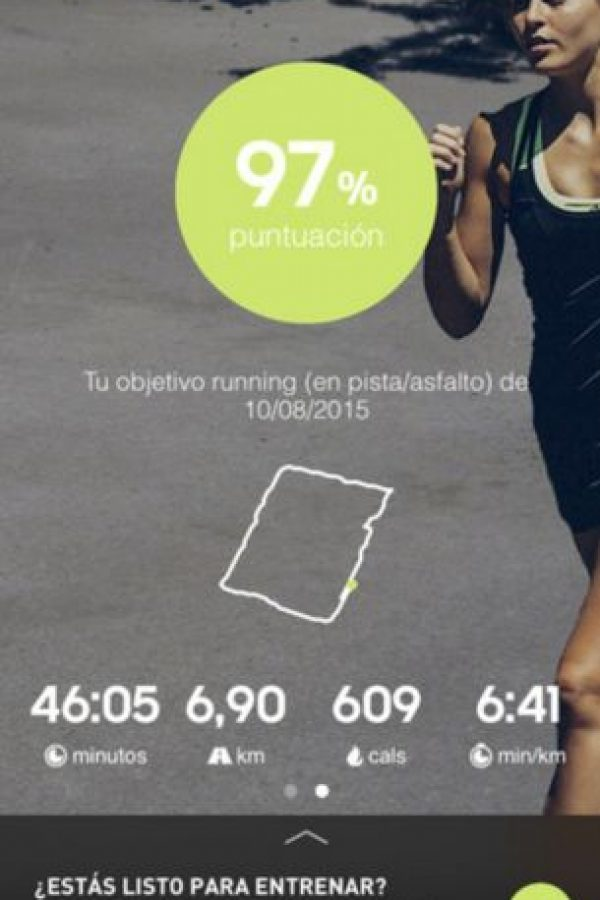 Disponible para iOS y Android. Foto:adidas AG