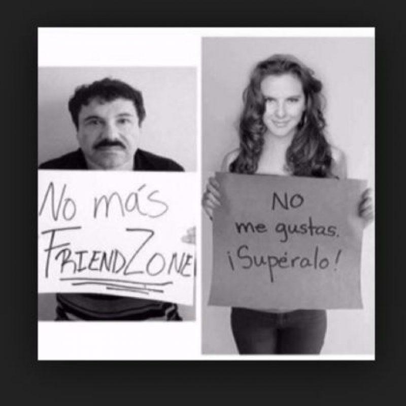"""Estos son los mejores memes en torno a la relación de Kate del Castillo y """"El Chapo"""" Guzmán Foto:Vía Twitter"""