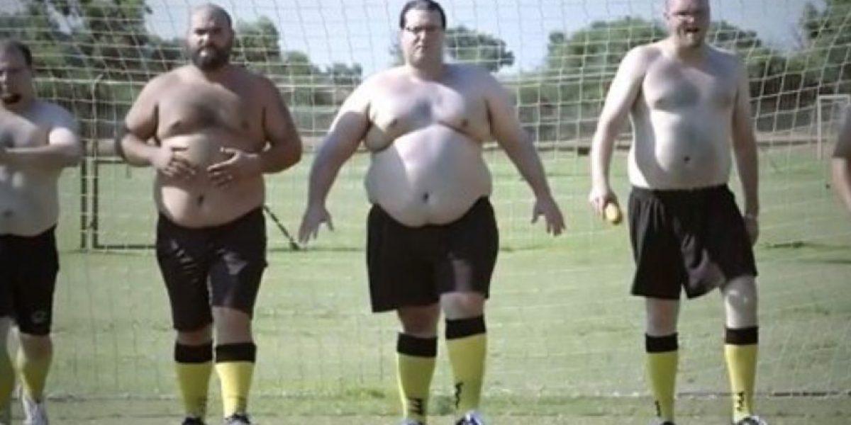 FatBall, la primera liga de fútbol exclusiva para jugadores obesos