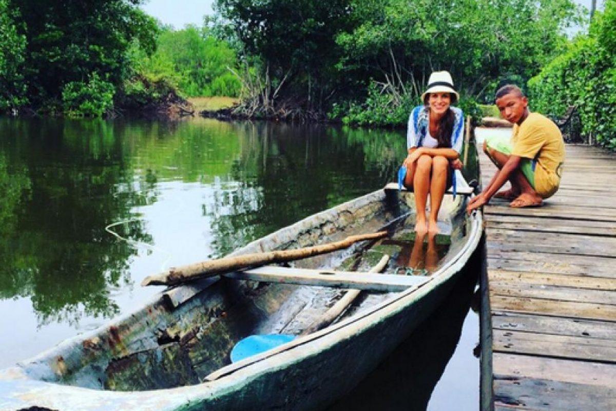Natalia Jerez protagoniza 'Sinú, río de Pasiones', la más reciente apuesta de Caracol Televisión. Foto:https://www.instagram.com/mijerez/