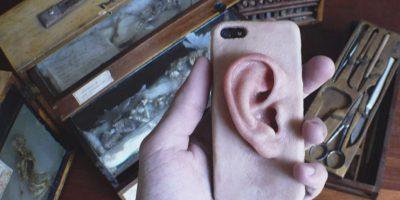 Esta carcasa se siente como una oreja de verdad. Foto:vía instagram.com/adipocere