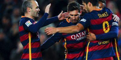 Ahora, Messi sufre molestias musculares que no lo dejaron jugar el partido de ida de los cuartos de final de la Copa del Rey Foto:Getty Images