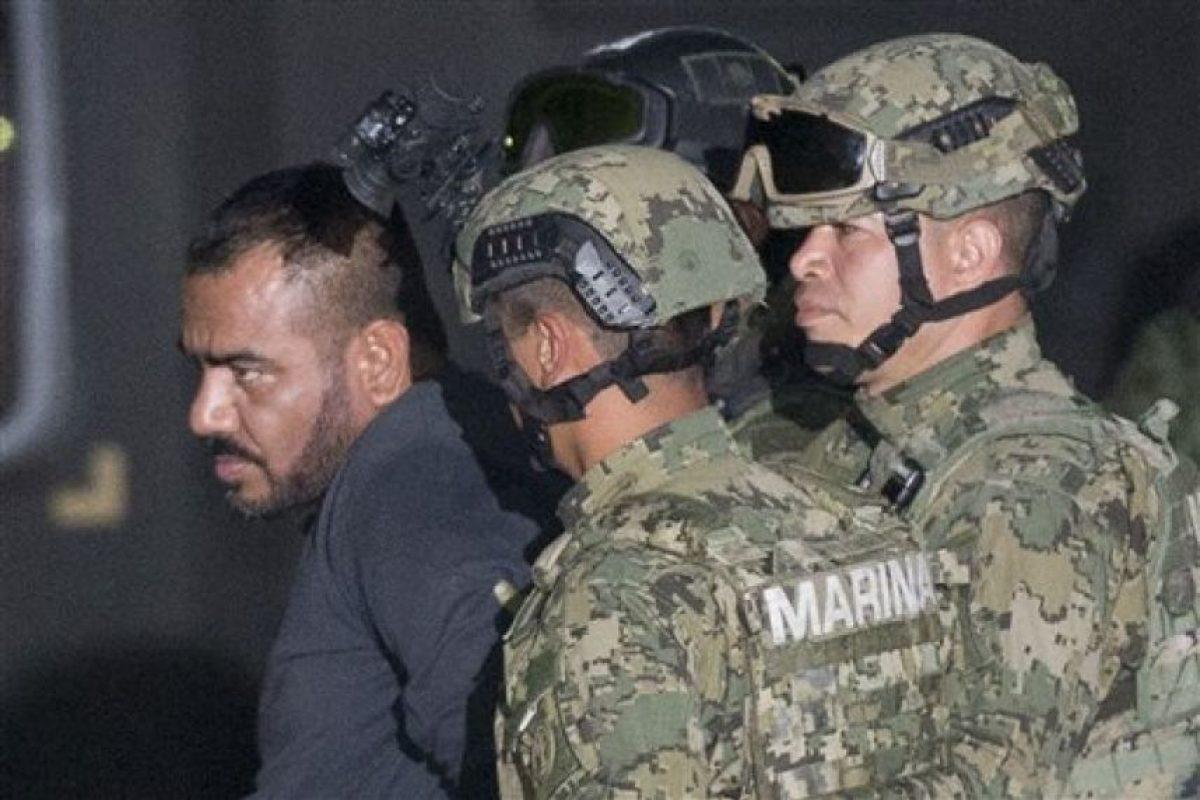 """Junto a él detuvieron a su sicario """"El Cholo"""" Iván. Foto:AP"""
