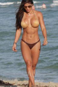 La venezolana es una de las modelos fitness más famosas del mundo Foto:Vía instagram.com/michelle_lewin