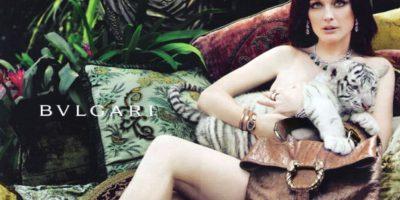 Julianne Moore desborda sensualidad por su estilo y elegancia. Foto:vía Bulgari